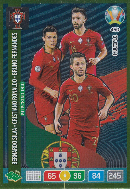 #450 Portugal Adrenalyn XL Euro 2020 MULTIPLE - ATTACKING TRIO