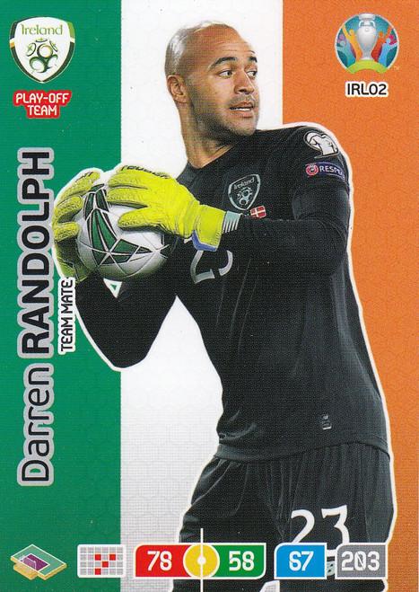 #IRL02 Darren Randolph (Republic of Ireland) Adrenalyn XL Euro 2020