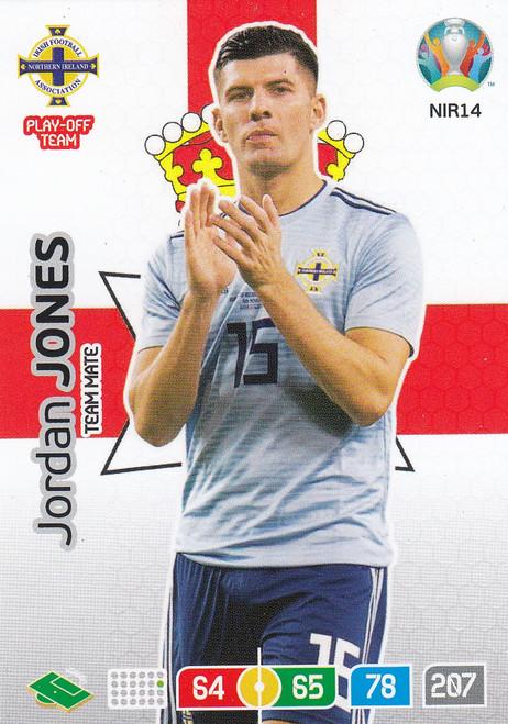 #NIR14 Jordan Jones (Northern Ireland) Adrenalyn XL Euro 2020