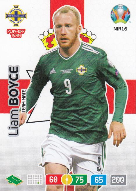 #NIR16 Liam Boyce (Northern Ireland) Adrenalyn XL Euro 2020