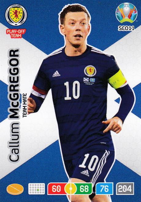 #SCO11 Callum McGregor (Scotland) Adrenalyn XL Euro 2020