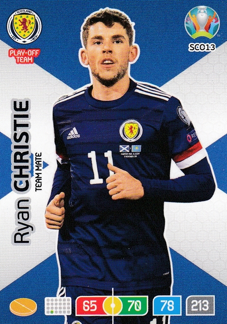 #SCO13 Ryan Christie (Scotland) Adrenalyn XL Euro 2020
