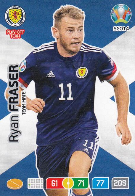 #SCO14 Ryan Fraser (Scotland) Adrenalyn XL Euro 2020