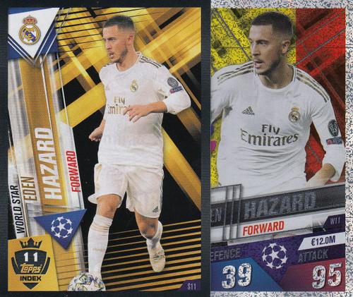 #W11 Eden Hazard (Real Madrid CF) Match Attax 101 2019/20