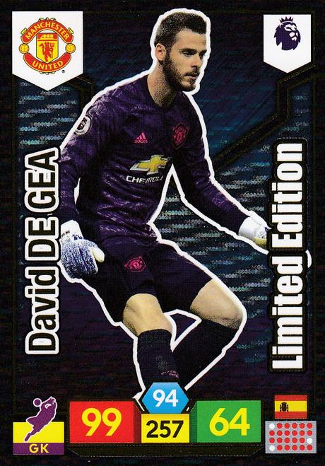 David De Gea (Manchester United) Adrenalyn XL Premier League 2019/20 LIMITED EDITION