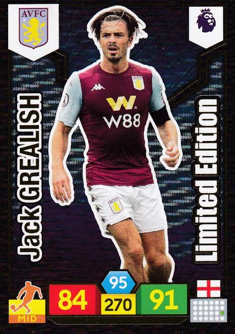 Jack Grealish (Aston Villa) Adrenalyn XL Premier League 2019/20 LIMITED EDITION