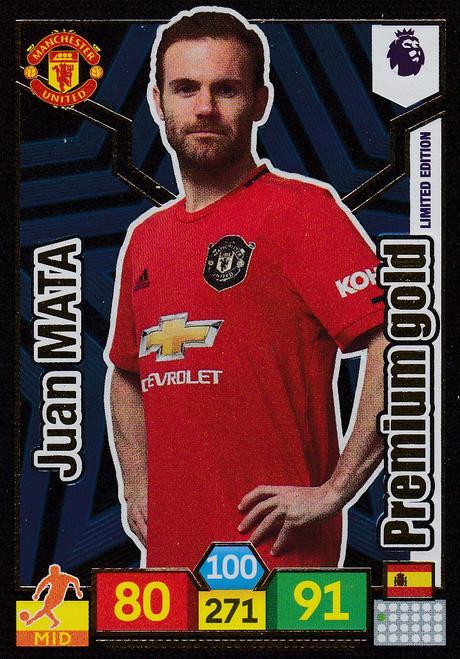 Juan Mata (Manchester United) Adrenalyn XL Premier League 2019/20 LIMITED EDITION