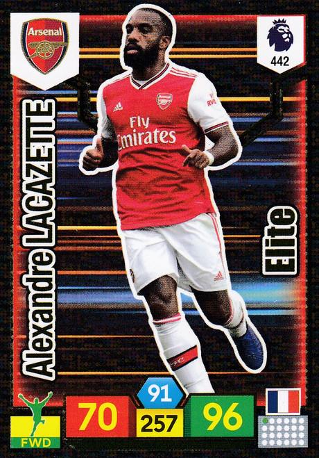#442 Alexandre Lacazette (Arsenal) Adrenalyn XL Premier League 2019/20 ELITE
