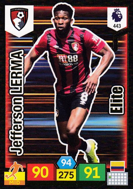 #443 Jefferson Lerma (AFC Bournemouth) Adrenalyn XL Premier League 2019/20 ELITE