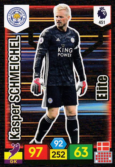 #451 Kasper Schmeichel (Leicester City) Adrenalyn XL Premier League 2019/20 ELITE