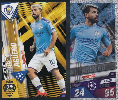 #W14 Sergio Aguero (Manchester City) Match Attax 101 2019/20