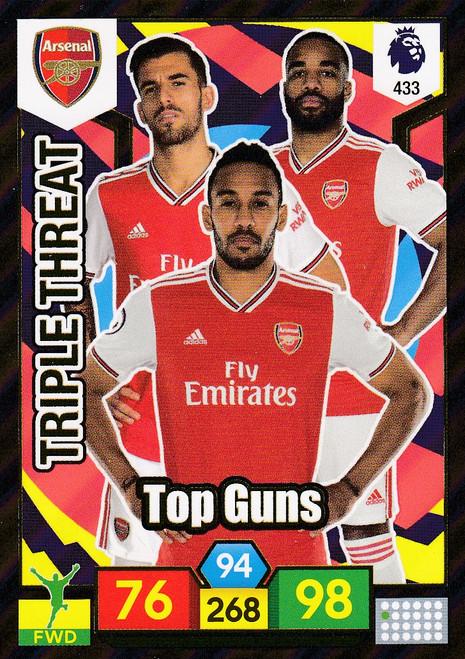 #433 Top Guns (Arsenal) Adrenalyn XL Premier League 2019/20 TRIPLE THREAT