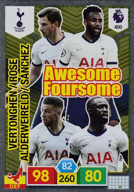 #400 Tottenham Hotspur Adrenalyn XL Premier League 2019/20 AWESOME FOURSOME