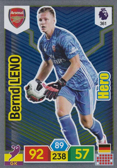 #361 Bernd Leno (Arsenal) Adrenalyn XL Premier League 2019/20 HERO