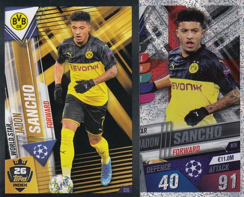 #W26 Jadon Sancho (Borussia Dortmund) Match Attax 101 2019/20