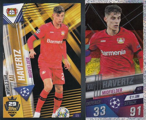 #W29 Kai Havertz (Bayer 04 Leverkusen) Match Attax 101 2019/20
