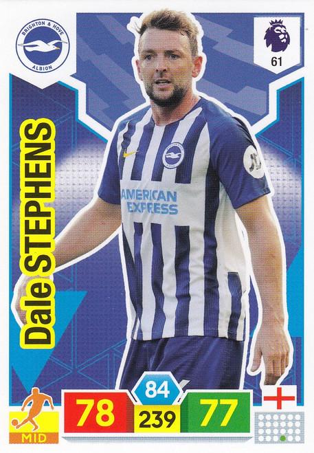 #61 Dale Stephens (Brighton & Hove Albion) Adrenalyn XL Premier League 2019/20