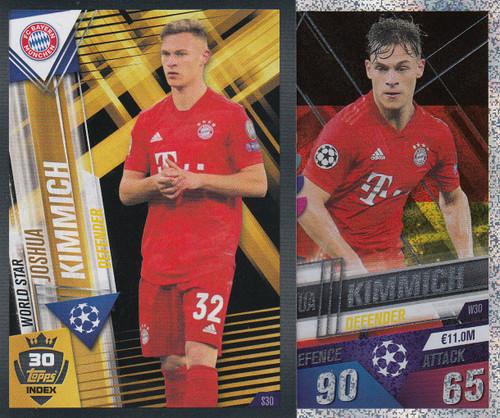 #W30 Joshua Kimmich (FC Bayern Munchen) Match Attax 101 2019/20
