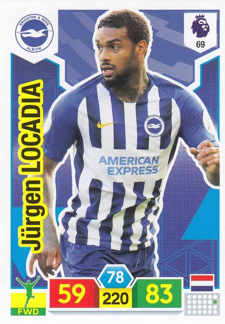 #69 Jurgen Locadia (Brighton & Hove Albion) Adrenalyn XL Premier League 2019/20