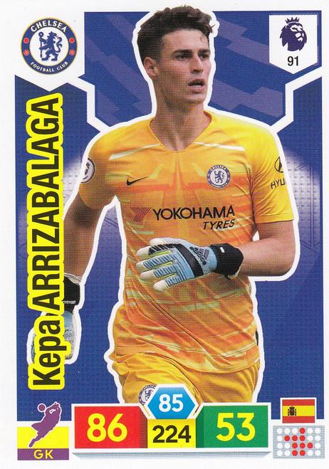 #91 Kepa Arrizabalaga (Chelsea)  Adrenalyn XL Premier League 2019/20