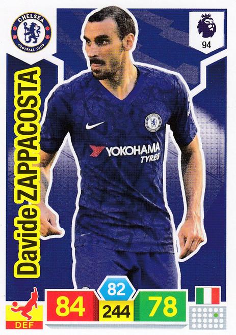 #94 Davide Zappacosta (Chelsea)  Adrenalyn XL Premier League 2019/20