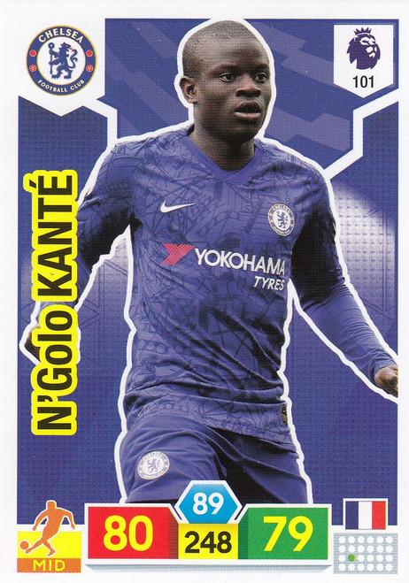 #101 N'Golo Kante (Chelsea)  Adrenalyn XL Premier League 2019/20