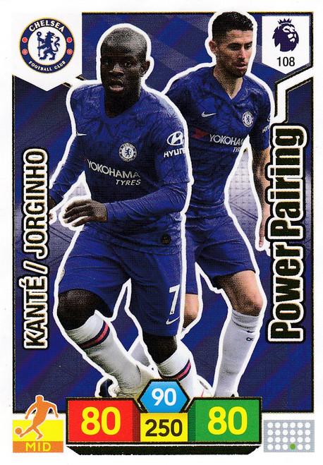 #108 Chelsea Power Pairing  Adrenalyn XL Premier League 2019/20