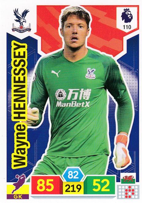 #110 Wayne Hennessey (Crystal Palace)  Adrenalyn XL Premier League 2019/20