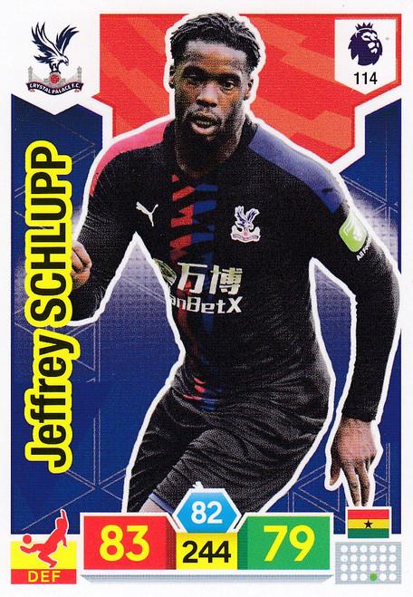 #114 Jeffrey Schlupp (Crystal Palace)  Adrenalyn XL Premier League 2019/20