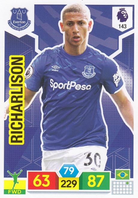 #143 Richarlison (Everton) Adrenalyn XL Premier League 2019/20