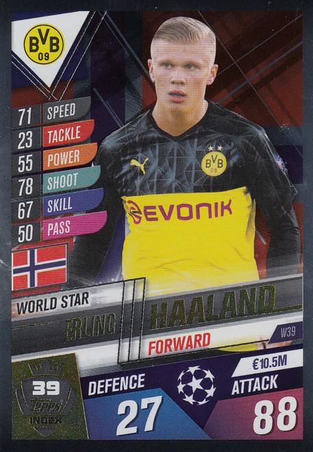 #W39 Erling Haaland (Borussia Dortmund ) Match Attax 101 2019/20