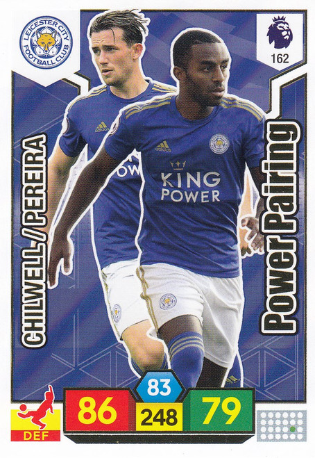 #162 Leicester City Power Pairing Adrenalyn XL Premier League 2019/20