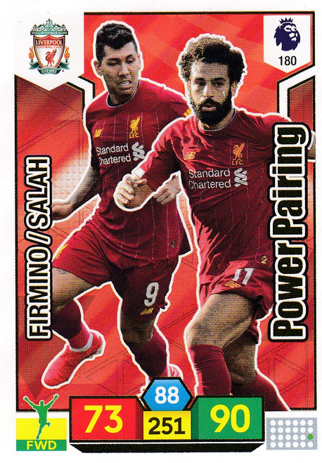 #180 Liverpool Power Pairing Adrenalyn XL Premier League 2019/20