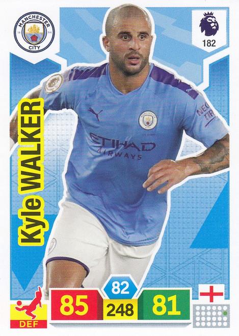 #182 Kyle Walker (Manchester City) Adrenalyn XL Premier League 2019/20