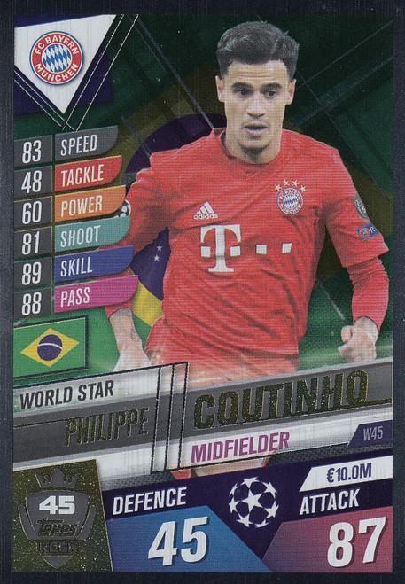 #W45 Philippe Coutinho (FC Bayern Munchen ) Match Attax 101 2019/20