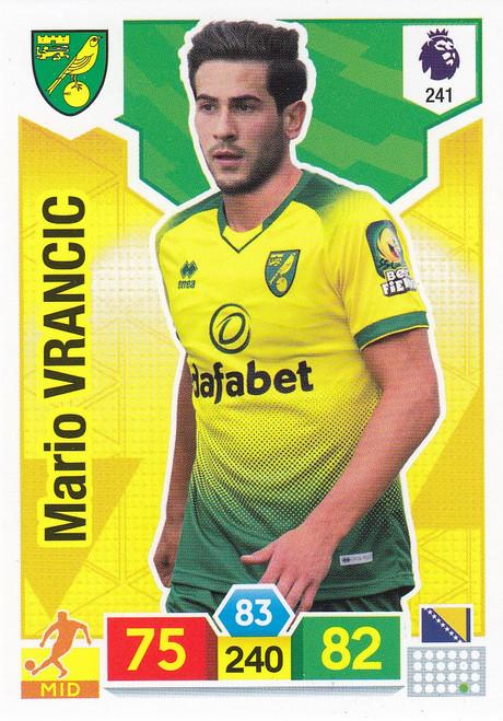 #241 Mario Vrancic (Norwich City) Adrenalyn XL Premier League 2019/20
