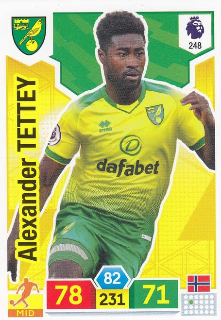#248 Alexander Tettey (Norwich City) Adrenalyn XL Premier League 2019/20