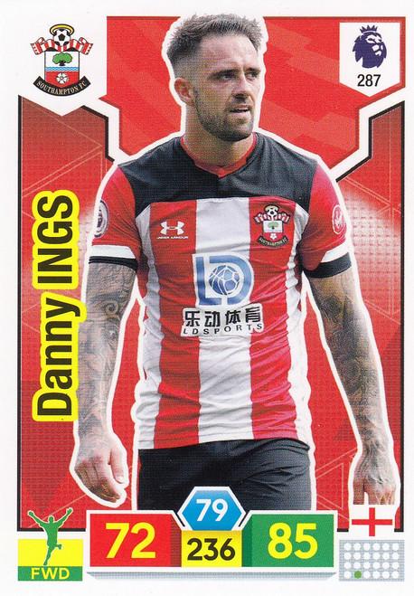#287 Danny Ings (Southampton) Adrenalyn XL Premier League 2019/20