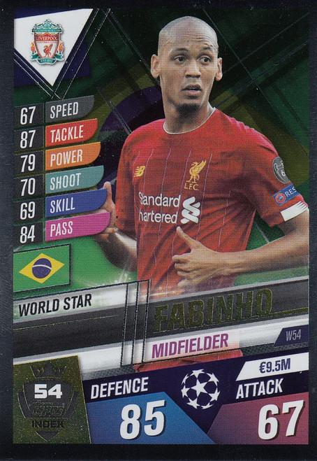 #W54 Fabinho (Liverpool FC) Match Attax 101 2019/20
