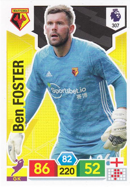 #307 Ben Foster (Watford) Adrenalyn XL Premier League 2019/20