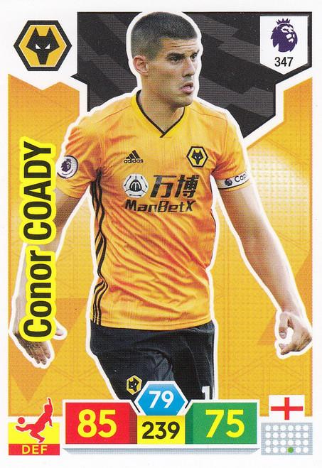 #347 Conor Coady (Wolverhampton Wanderers) Adrenalyn XL Premier League 2019/20