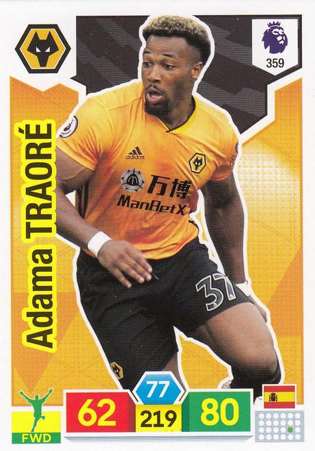 #359 Adama Traore (Wolverhampton Wanderers) Adrenalyn XL Premier League 2019/20
