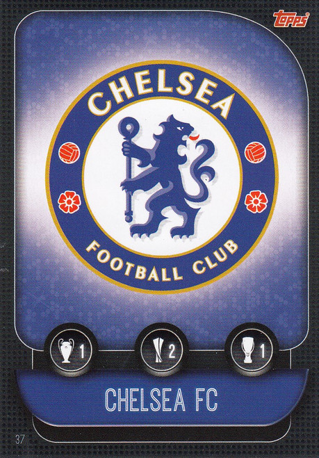 #37 Chelsea Team Badge Match Attax Champions League 2019/20