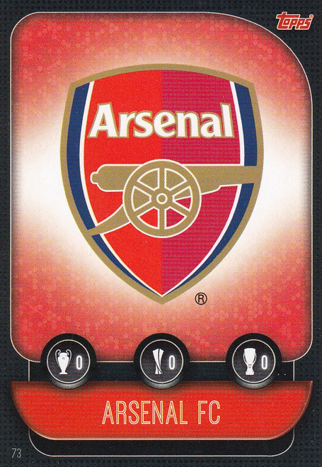 #73 Arsenal Team Badge Match Attax Champions League 2019/20