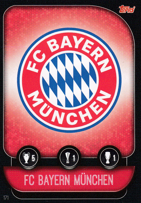 #171 FC Bayern Munchen Team Badge Match Attax Champions League 2019/20