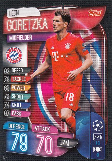 #178 Leon Goretzka (FC Bayern Munchen) Match Attax Champions League 2019/20