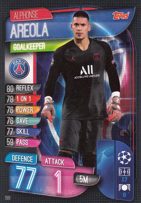 #198 Alphonse Areola (Paris Saint-Germain) Match Attax Champions League 2019/20