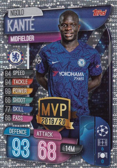 #275 N'Golo Kante (Chelsea) Match Attax Champions League 2019/20 MVP