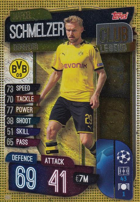 #300 Marcel Schmelzer (Borussia Dortmund) Match Attax Champions League 2019/20 CLUB LEGEND