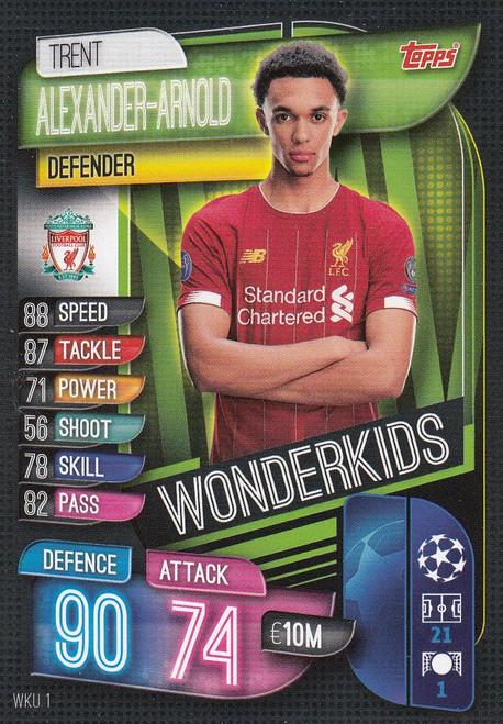 #WKU1 Trent Alexander-Arnold (Liverpool) Match Attax Champions League 2019/20 WONDERKIDS